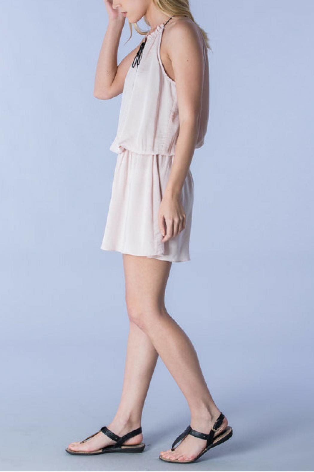 Do & Be Blush Tied Dress - Front Full Image