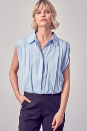 Do & Be Button-Down Collared Top - Front cropped