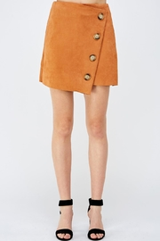 Do & Be Button Front Skirt - Product Mini Image