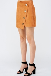 Do & Be Button Front Skirt - Side cropped