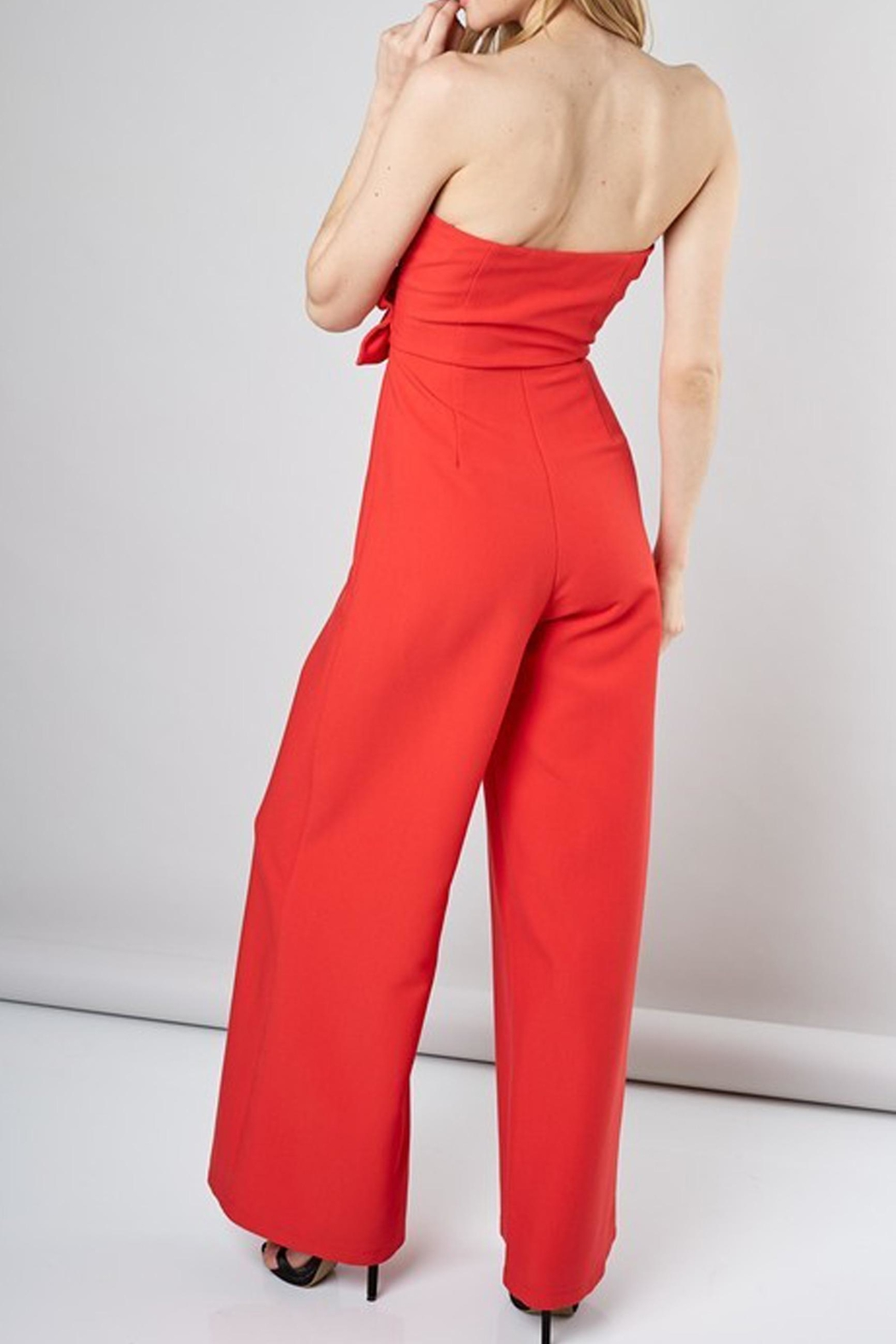 Do & Be Camilla Ruffled Jumpsuit - Front Full Image