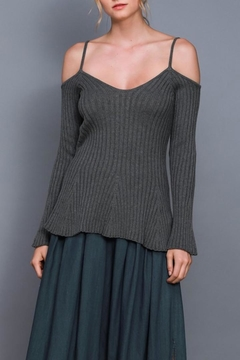 Do & Be Cold Shoulder Top - Product List Image