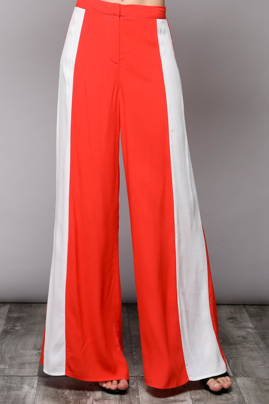 Do & Be Colorblock Pants - Side Cropped Image