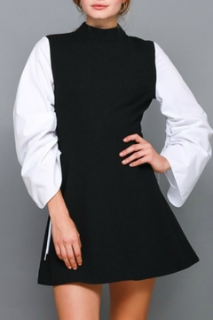 Do & Be Contrast Shirt Dress - Product List Image