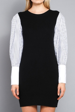 Shoptiques Product: Contrast Sleeve Dress