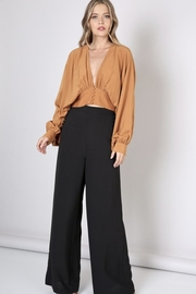 Do & Be Covered Button Wide Leg Pants - Product Mini Image
