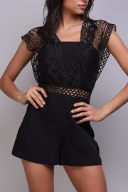Do & Be Crochet Strap Romper - Product Mini Image