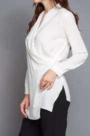 Do & Be Cross Front Blouse - Back cropped