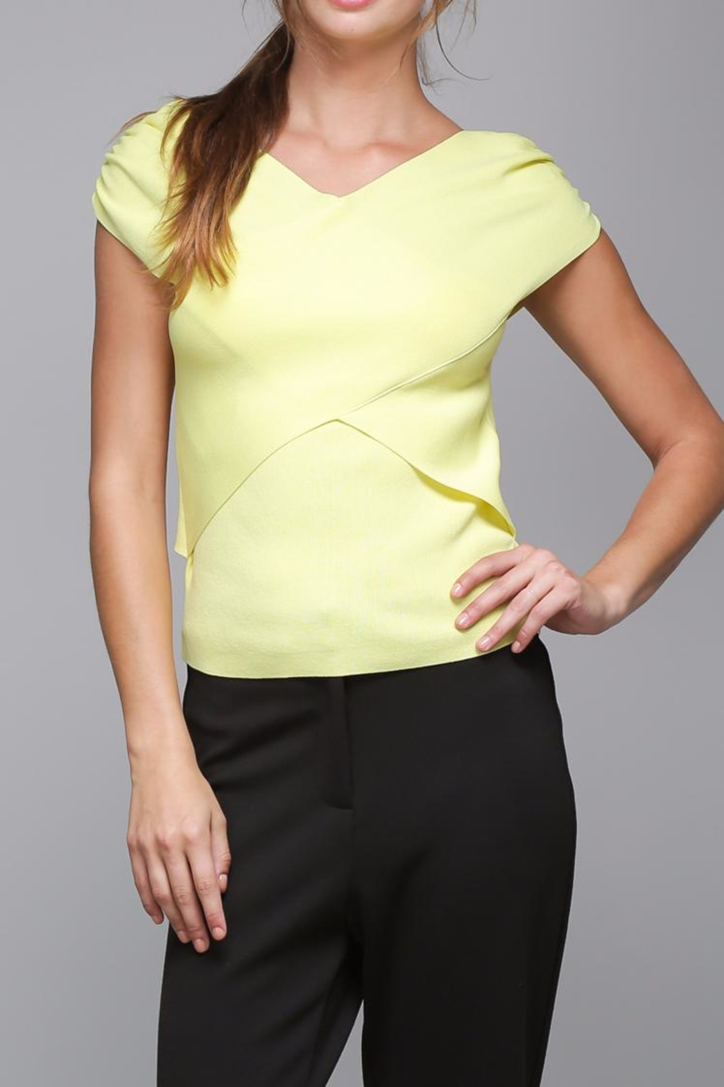 Do & Be Cross Wrap Top - Main Image