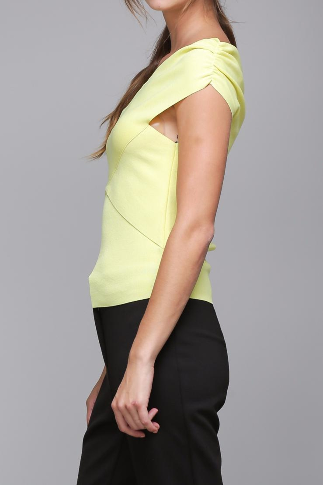 Do & Be Cross Wrap Top - Side Cropped Image