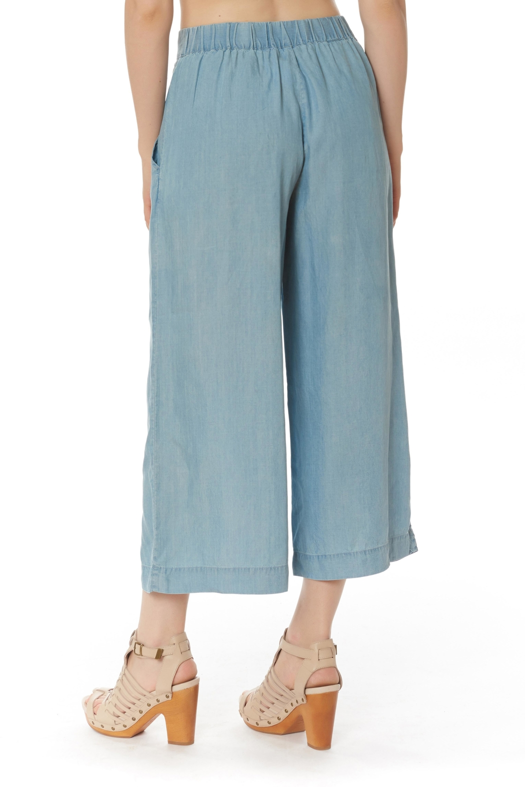 Do & Be Culotte Denim Pants - Front Full Image