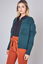 Do & Be Detail Hook-Closure Cardigan - Front full body