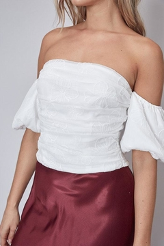 Do & Be Embroidered Off-The-Shoulder Top - Alternate List Image