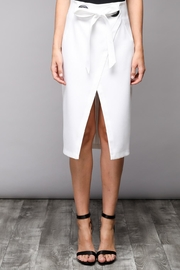 Do & Be Eyelet Wrap Skirt - Side cropped