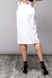 Do & Be Eyelet Wrap Skirt - Front full body