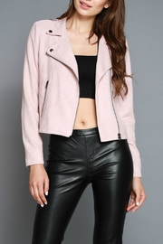 Do & Be Faux Moto Jacket - Front cropped