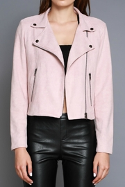 Do & Be Faux Moto Jacket - Front full body