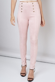 Do & Be Faux Suede Pants - Product Mini Image