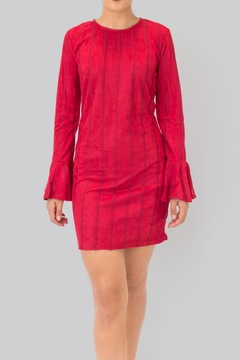 Shoptiques Product: Flared Sleeves Dress