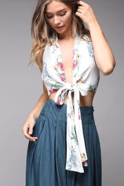 Do & Be Tie Front Top - Front cropped