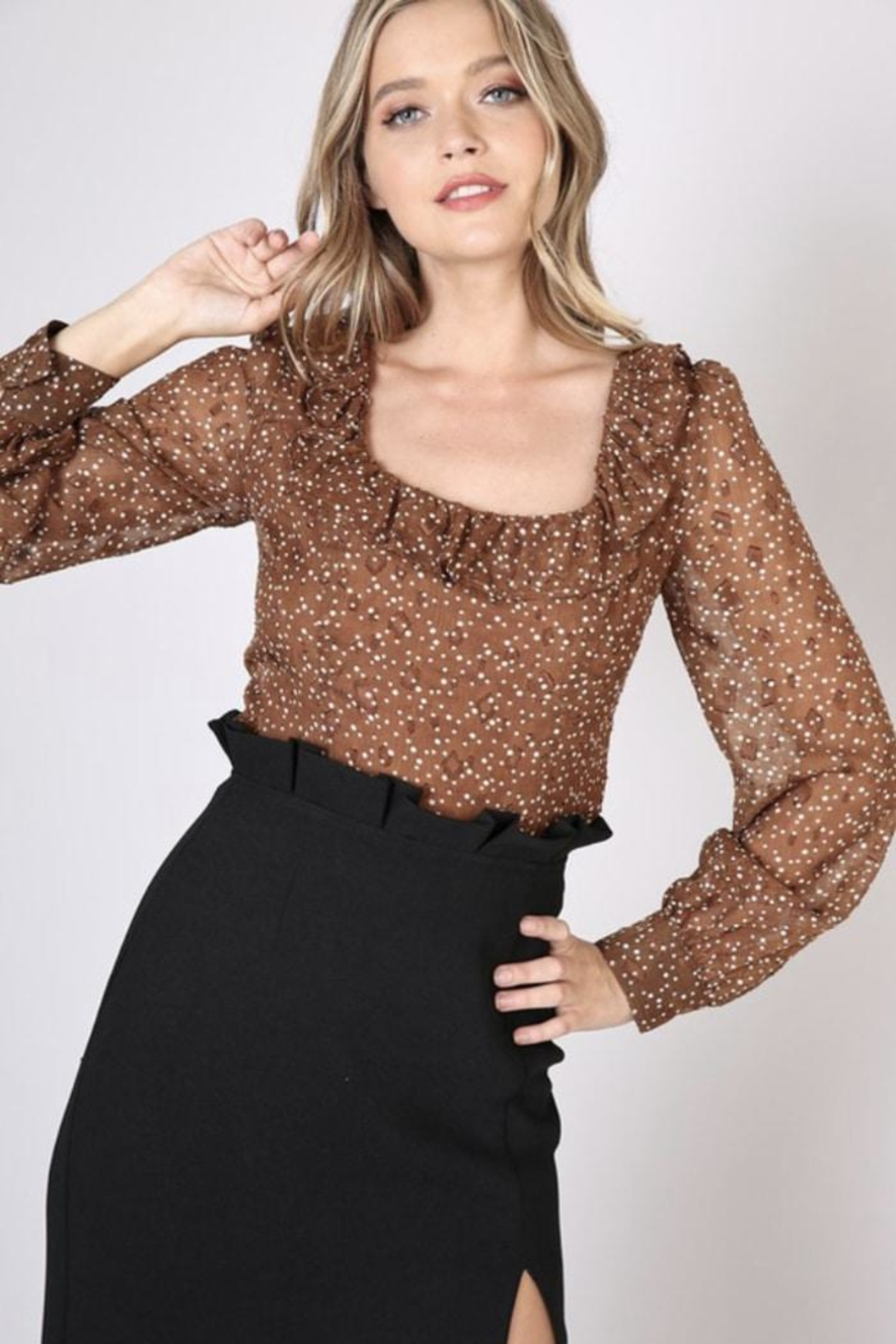 Do & Be Forever Together Truffle Top - Main Image