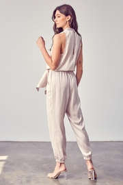 Do & Be Front Tie Jumpsuit - Front full body