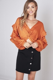 Do & Be Front Twist Cropped-Top - Product Mini Image