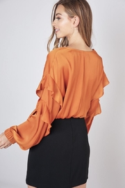 Do & Be Front Twist Cropped-Top - Front full body
