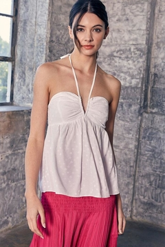 Shoptiques Product: Halter Backless Top