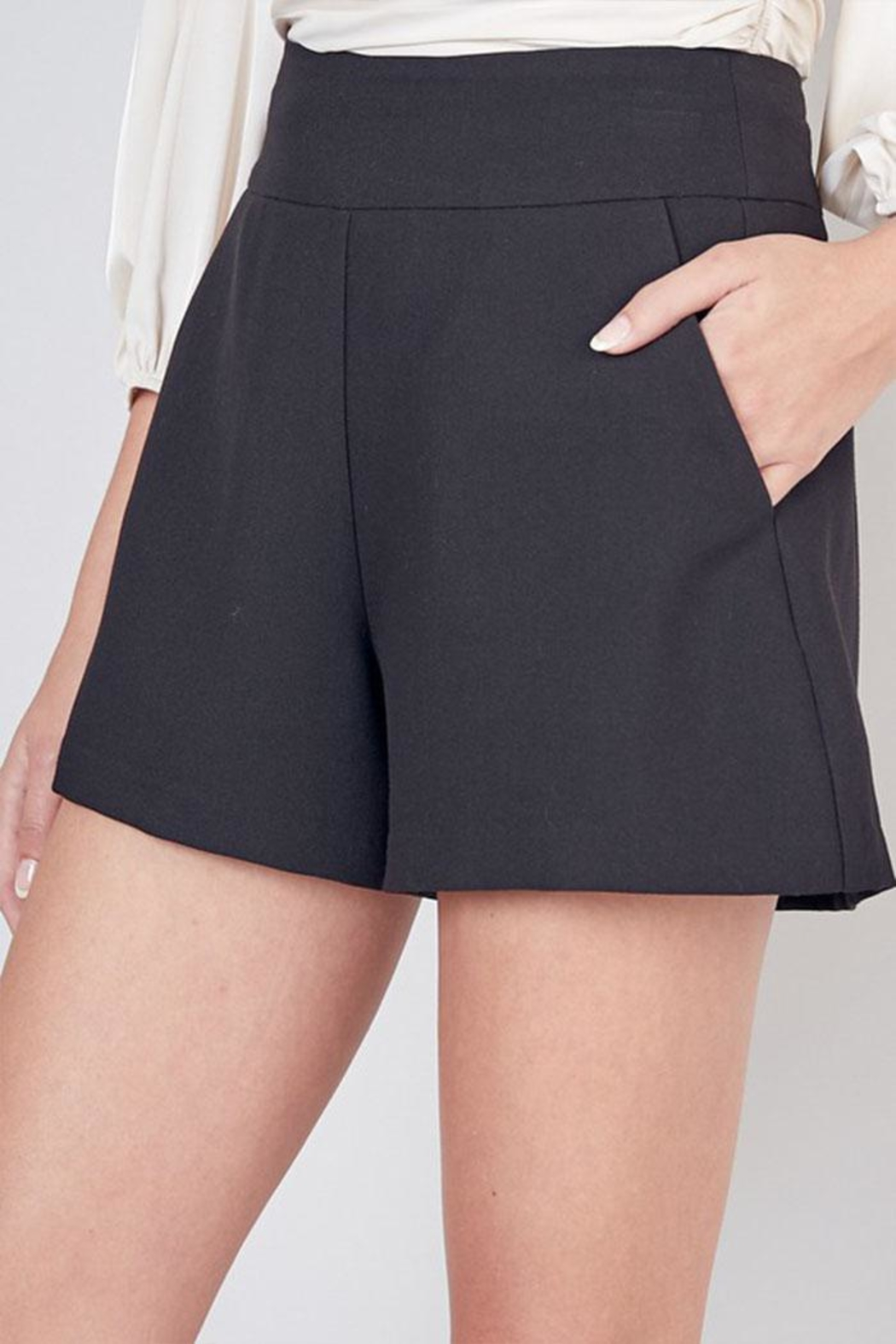 Do & Be High Waisted Shorts - Front Cropped Image