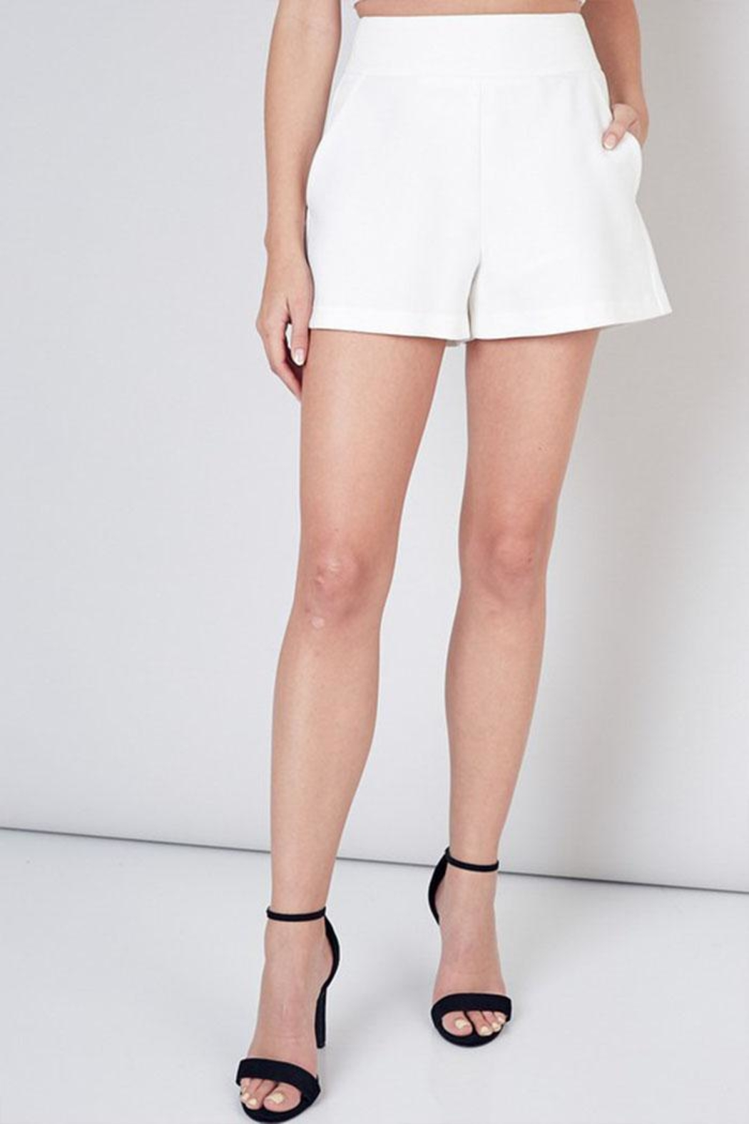 Do & Be High Waisted Shorts - Front Full Image