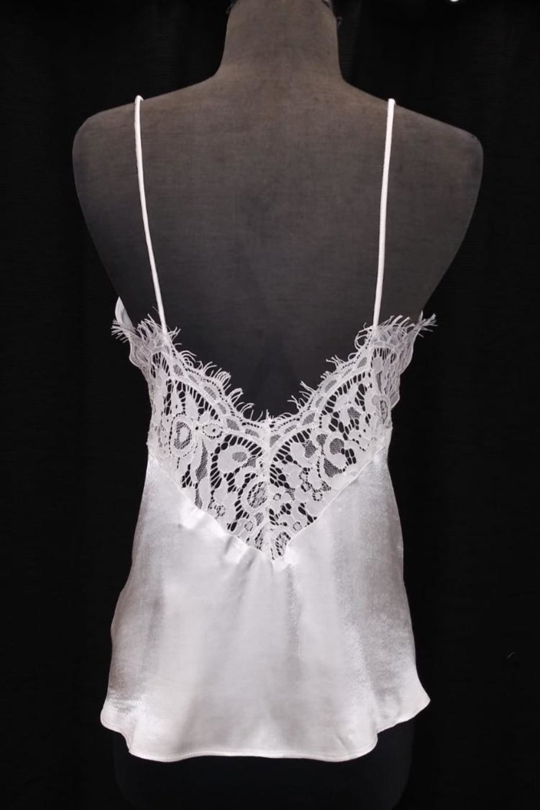 Do & Be Lace Back Top - Front Full Image