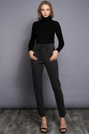Do & Be Lace Up Pants - Back cropped