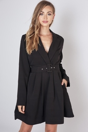 Do & Be Lapel Collar Dress - Front cropped