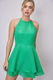Do & Be Layered Halter Dress - Front cropped