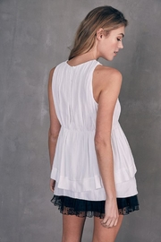 Do & Be Layered Sleeveless Top - Back cropped