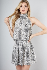 Do & Be Mock-Neck Snake Dress - Product Mini Image