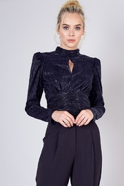 Do & Be Mock Neck Top - Front cropped