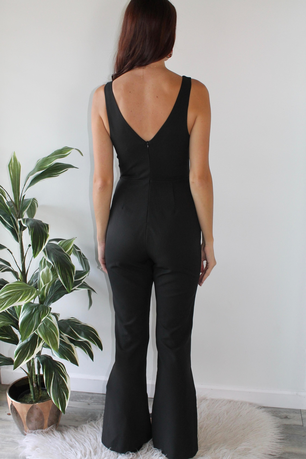 Do & Be Moonlight Stroll Jumpsuit - Side Cropped Image