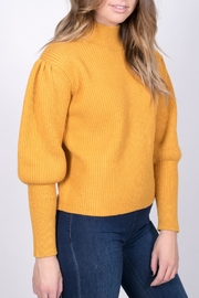 Do & Be Mustard Balloon Sleeve Sweater - Product Mini Image