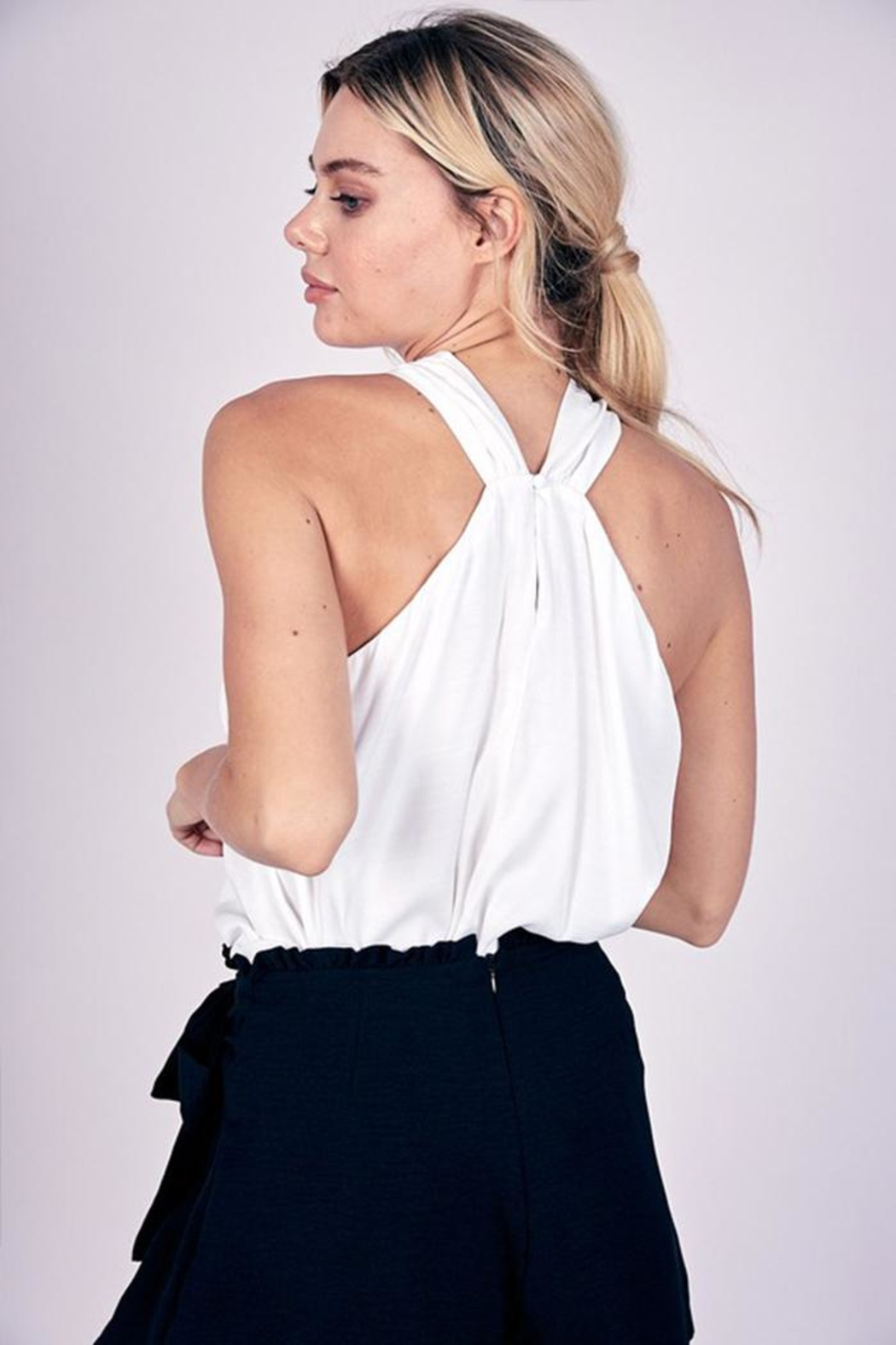 Do & Be O-Ring Halter Top - Front Full Image