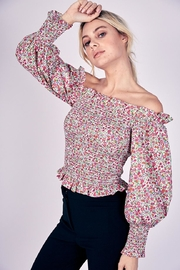 Do & Be Off-Shoulder Floral Top - Product Mini Image