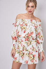 Do & Be Off-Shoulder Floral Top - Front cropped