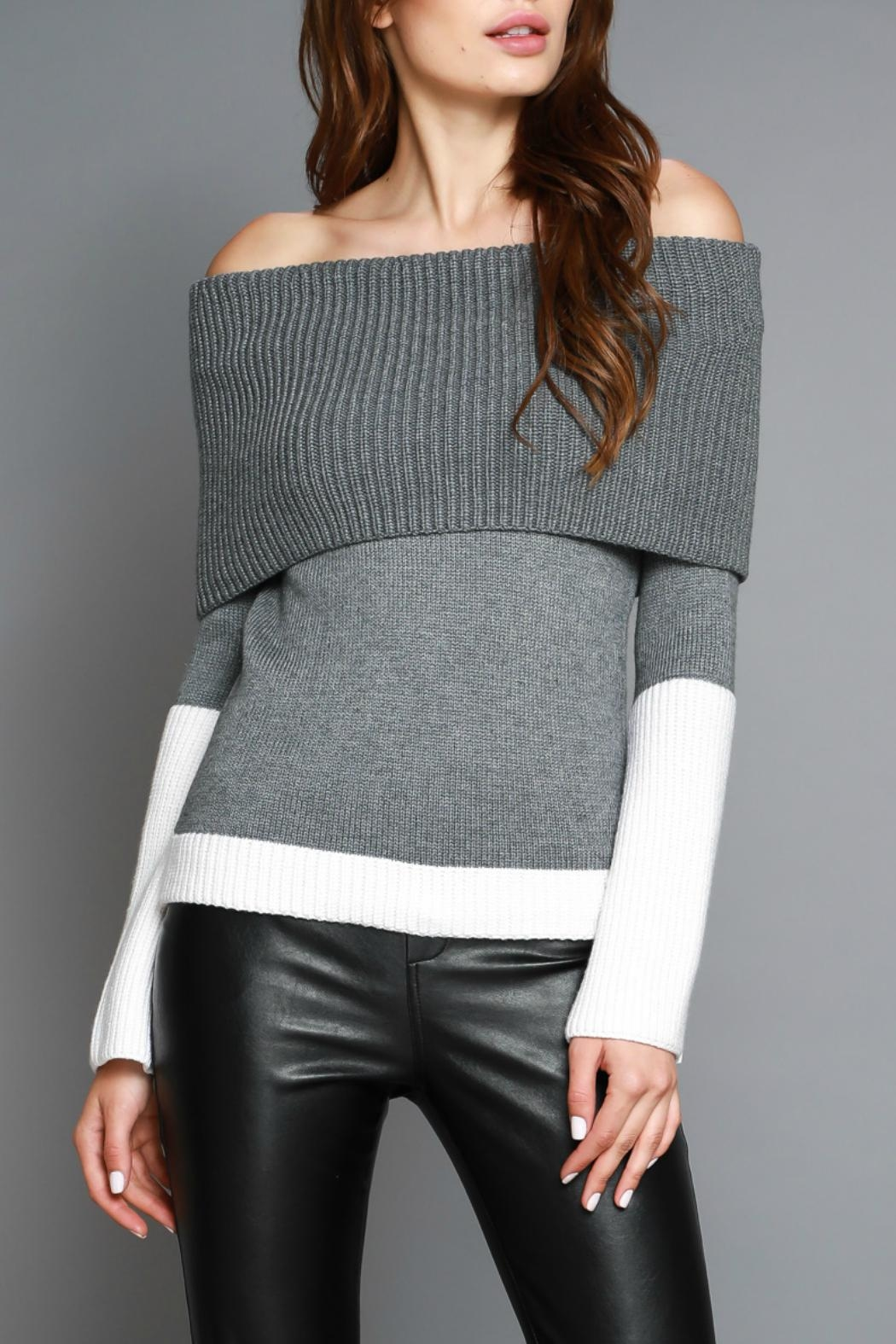 Do & Be Off Shoulder Sweater - Main Image