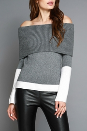 Do & Be Off Shoulder Sweater - Front cropped