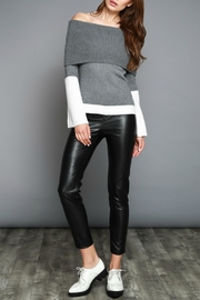 Do & Be Off Shoulder Sweater - Side cropped