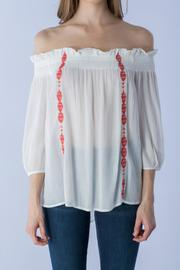 Do & Be White Off-Shoulder Top - Product Mini Image