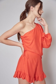Do & Be One Shoulder Romper - Front full body
