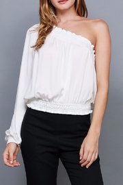 Do & Be Smocked One Shoulder Top - Product Mini Image