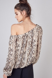 Do & Be Open Shoulder Top - Side cropped
